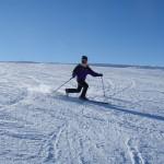 Ski télémark