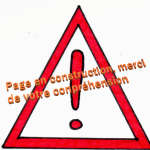 Attention page en construction